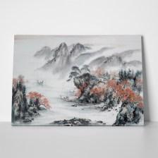 Πίνακας TRADITIONAL CHINESE LANDSCAPE 2