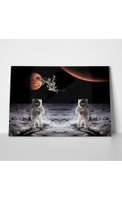 Πίνακας MOON SPACE