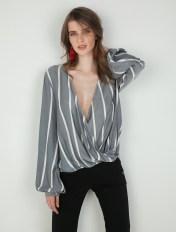 Toi Moi Ριγέ μπλούζα - ΜΠΛΕ NAVY 2018
