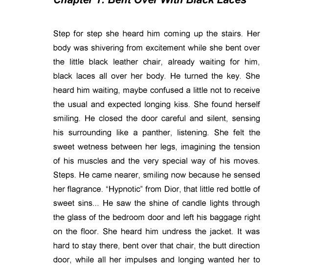 Leseprobe Erotic Short Stories