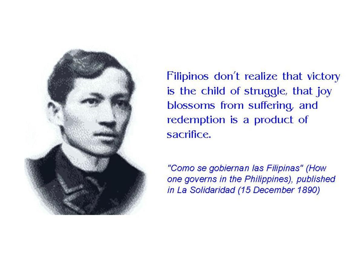 Jose Rizal Quotes In English QuotesGram
