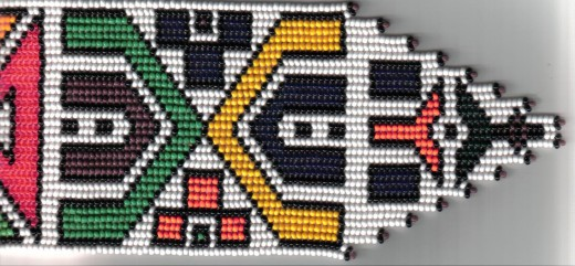 Ndebele bead work
