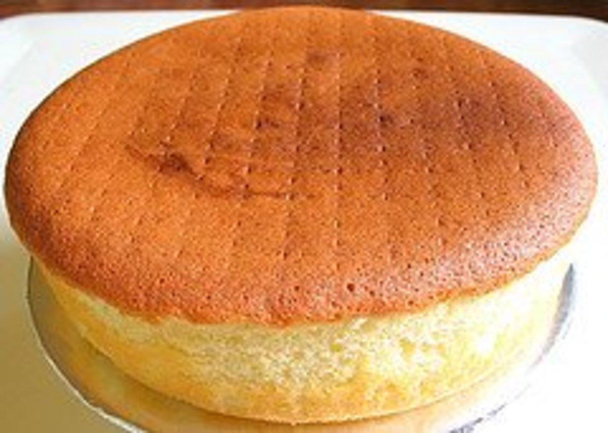 Angela Harris' Sponge Cake