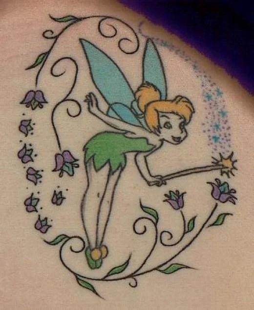 Tinkerbell Tattoos: Fairy Tattoos