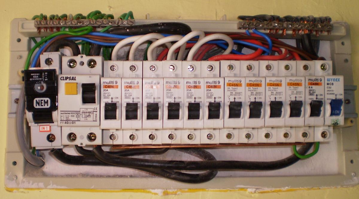 Home Electrical Wiring Circuit Breaker Labeling A Better Way