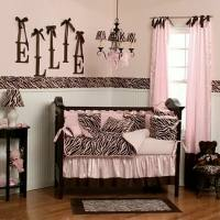 Pink and Brown Room Theme (Baby Room, Living Room, Bedroom)