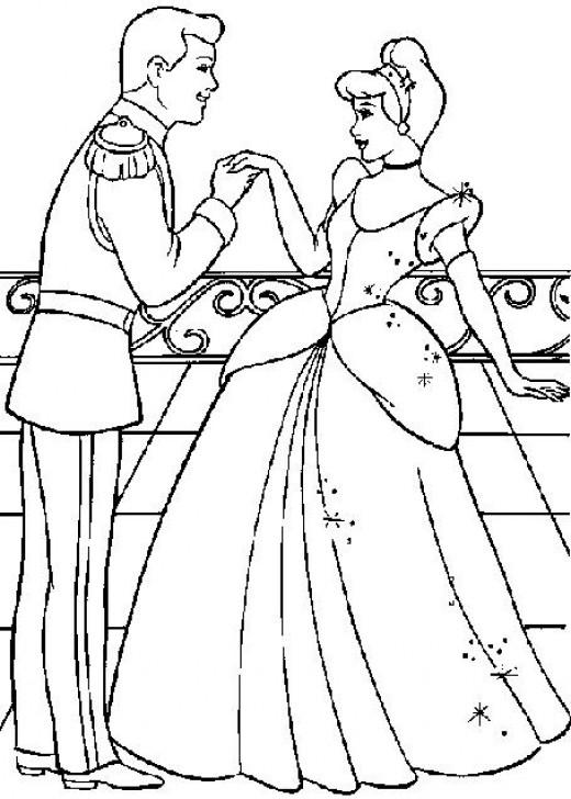 Tattoos Flower: coloring pages disney princess cinderella