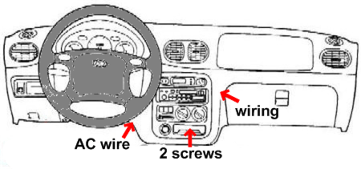 Hyundai Accent Radio Removal (94, 95, 96, 97, 98, 99)
