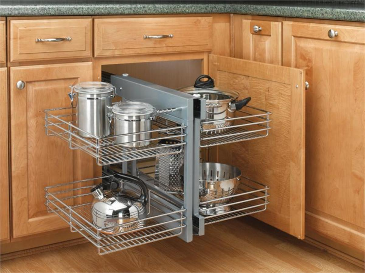 Corner Cabinet Solutions  What Are Your Options