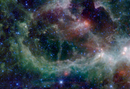 This is called the....Heart-nebula-in Cassiopeia-constellation