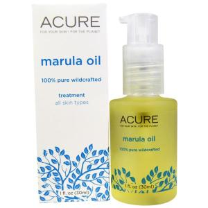 Acure Organics, زيت مارولا علاجي، جميع أنواع البشرة، 1 أونصة سائلة (30 ملغم)