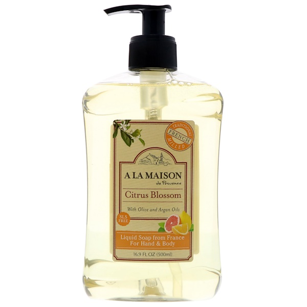 A La Maison De Provence Hand Amp Body Liquid Soap Citrus