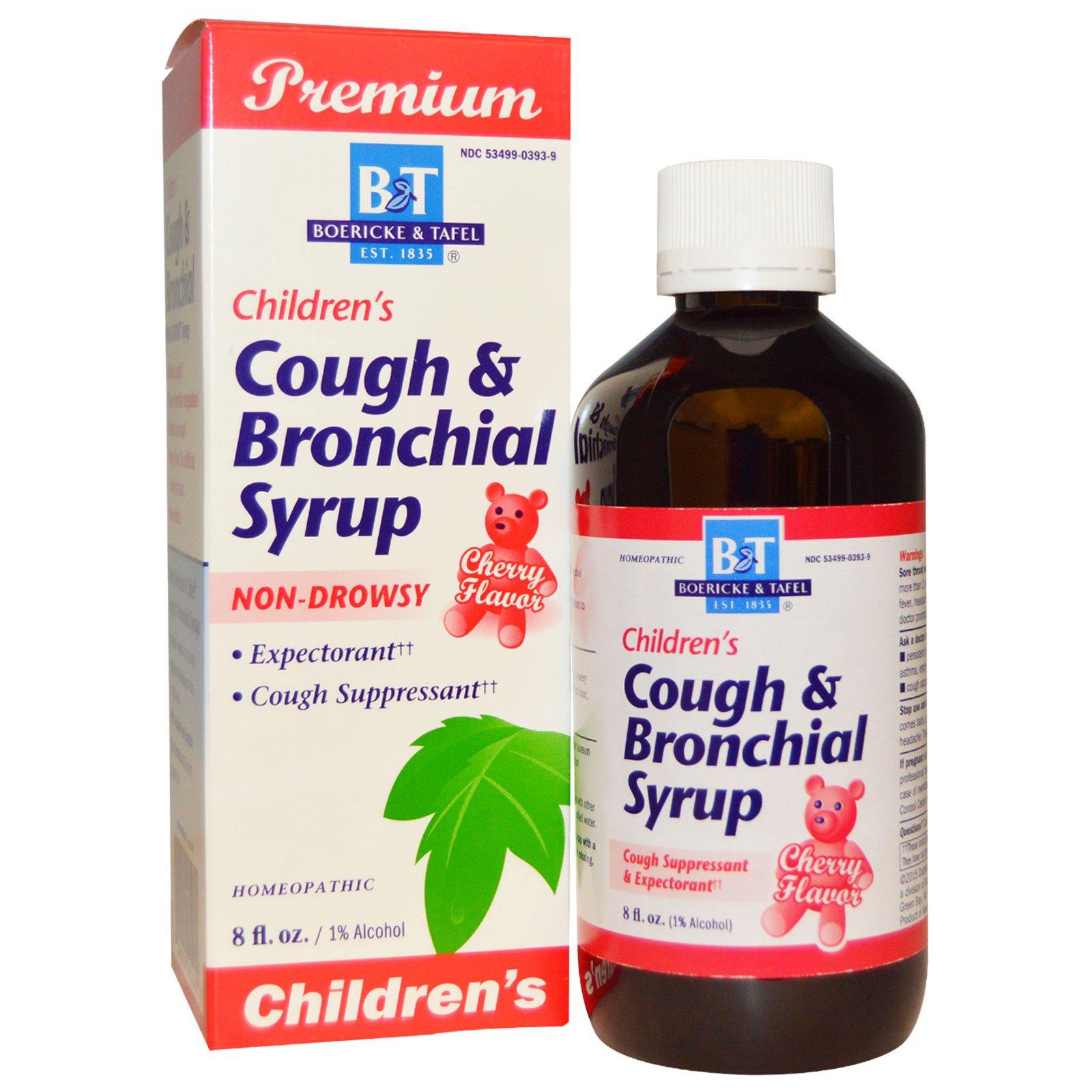 Boericke & Tafel Premium Children's Cough & Bronchial ...
