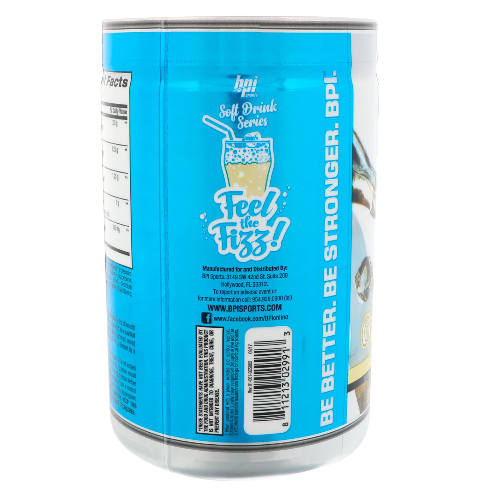 BPI Sports Best BCAA Soft Drink Series Cream Soda 1164