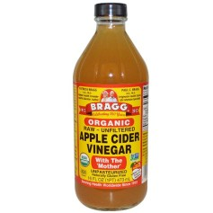 Bragg, オーガニックアップルサイダービネガー with The 'Mother', Raw-Unfiltered, 16 fl oz (473 ml) (Discontinued Item)