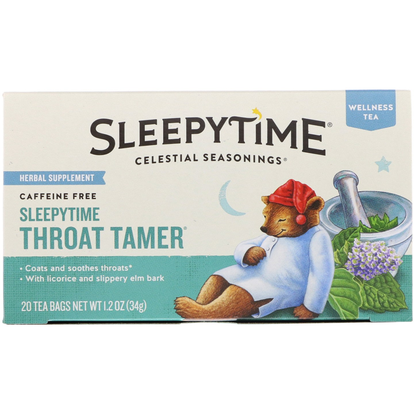 Celestial Seasonings Sleepytime Throat Tamer Tea