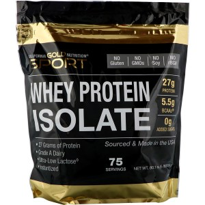 California Gold Nutrition, wheyprotein