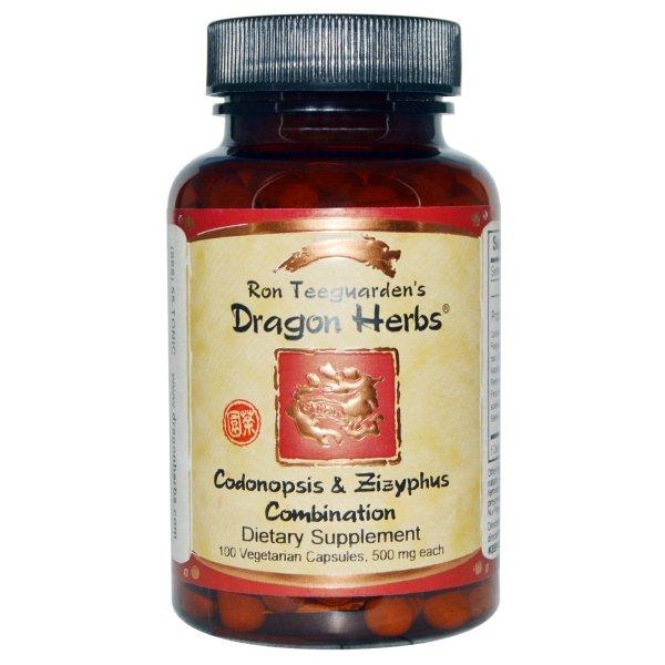 Dragon Herbs Codonopsis & Zizyphus Combination 500 Mg