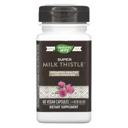 Enzymatic Therapy, スーパーミルクシスル、植物性カプセル60粒 (Discontinued Item)