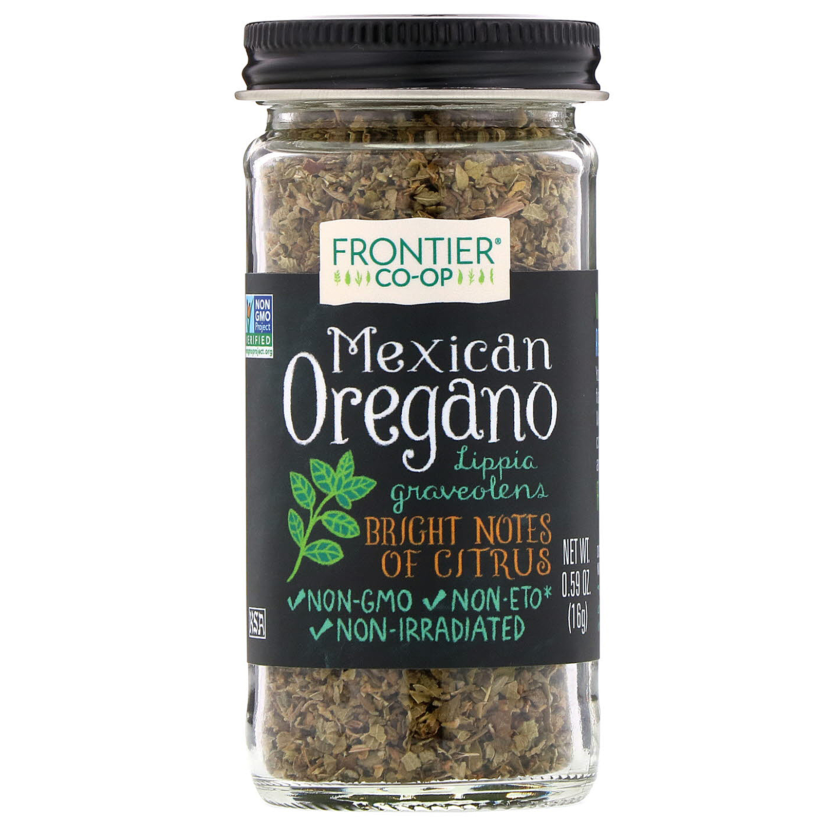Frontier Natural Products Mexican Oregano 0.59 oz (16 g ...