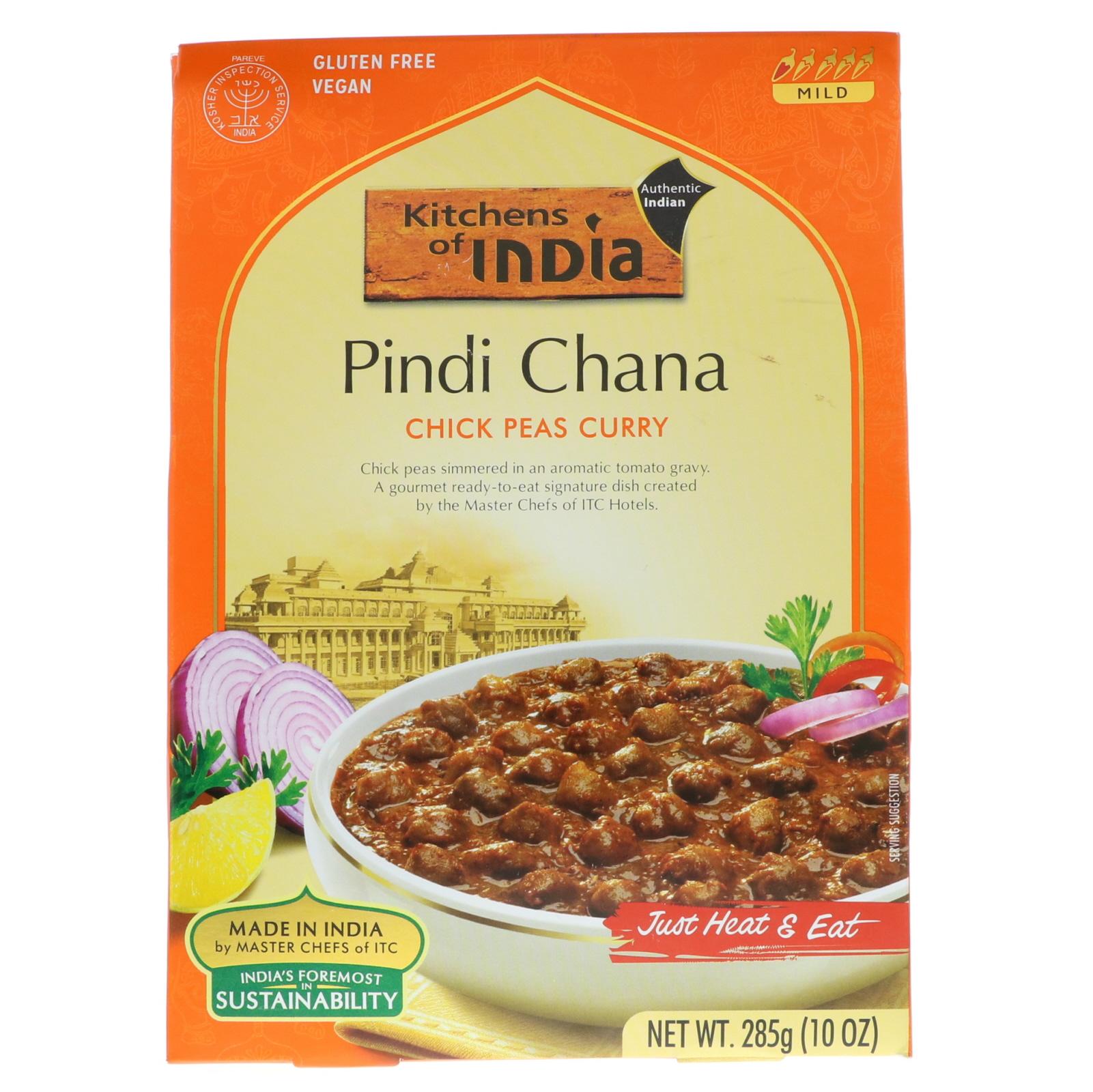 kitchens of india home depot glass tile kitchen backsplash pindi chana chick peas curry mild 10 oz 285 g iherb com