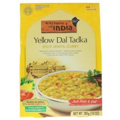 Kitchens Of India Kitchen Utility Carts Yellow Dal Tadka Split Lentil Curry Medium 10 Oz 285 G Iherb Com