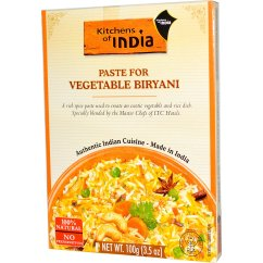 Kitchens Of India Kitchen Table Sets Paste For Vegetable Biryani 3 5 Oz 100 G