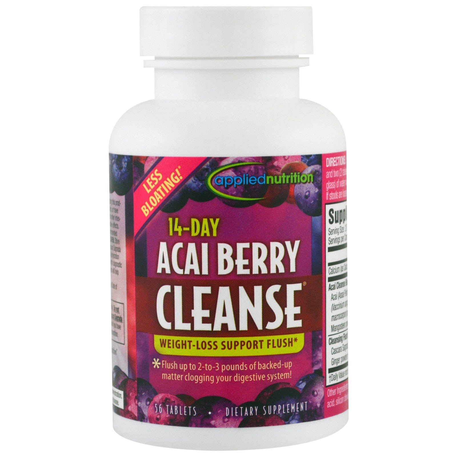 appliednutrition 14-Day Acai Berry Cleanse 56 Tablets ...