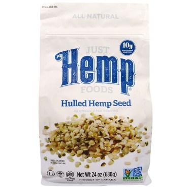 Just Hemp Foods, Hulled Hemp Seeds, 1.5 lbs (680 g)