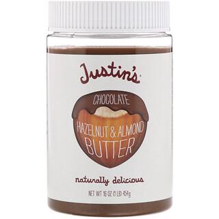 Justin's Nut Butter, مزيج من الشوكولاته وزبد البندق، 16 أوقية (454 غم)