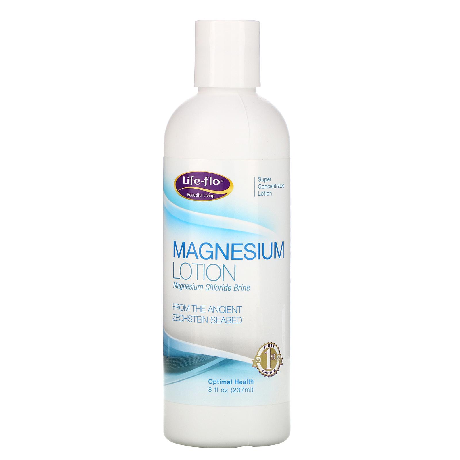 Life-flo Magnesium Lotion 8 fl oz (237 ml) - iHerb