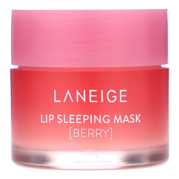 Laneige, מסכת לילה לשפתיים, גרגירי יער, 20 גרם