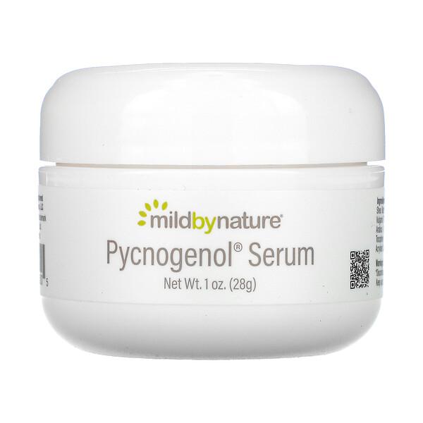 Mild By Nature, Pycnogenol(ピクノジェノール)美容液(クリーム)、スージング&エイジングケア、28g(1オンス)