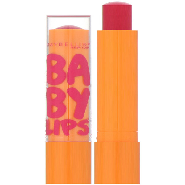 Maybelline, Baby Lips, Moisturizing Lip Balm, Cherry Me, 0.15 oz (4.4 g)