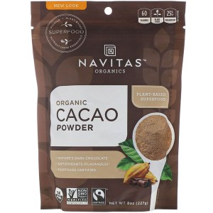 Navitas Organics, مسحوق الكاكاو العضوي، 8 أوقية (227 جم)