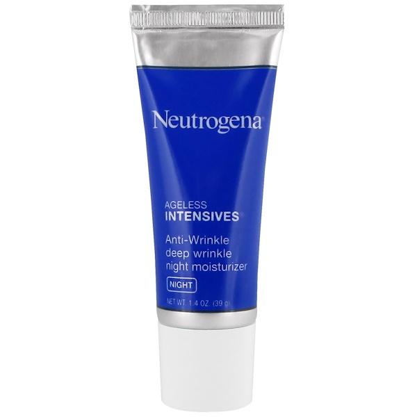 Neutrogena, Anti-Wrinkle Deep Wrinkle Night Moisturizer, Night, 1.4 oz (39 g)