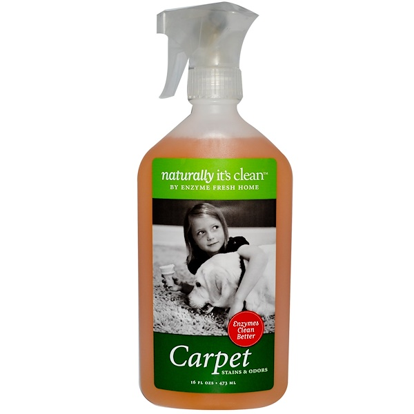 Naturally It's Clean, Carpet, Stains & Odors, 16 fl oz