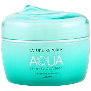 Nature Republic Aqua Super Aqua Max Combination Watery Cream   Fl Oz