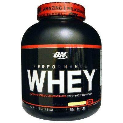 Optimum Nutrition, Performance Whey, Vanilla Shake, 4.19 ...