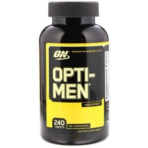 Optimum Nutrition, オプティ-メン, 240 錠