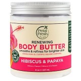 Petal Fresh, زبدة ترطيب الجسم للانسجام بالكركديه والبابايا ٨ أونصه (٢٣٧ملى) Pure