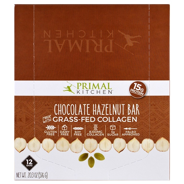 primal kitchen bars cabinet prices chocolate hazelnut grass fed collagen 12 1 7 oz