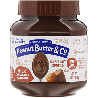 Peanut Butter & Co., معجون البندق، بندق مع الشوكولا والحليب، 13 أونصة (369 غرام)