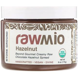 Rawmio, معجون الشوكولاتة بالبندق، 6 أونصة (170 غ)