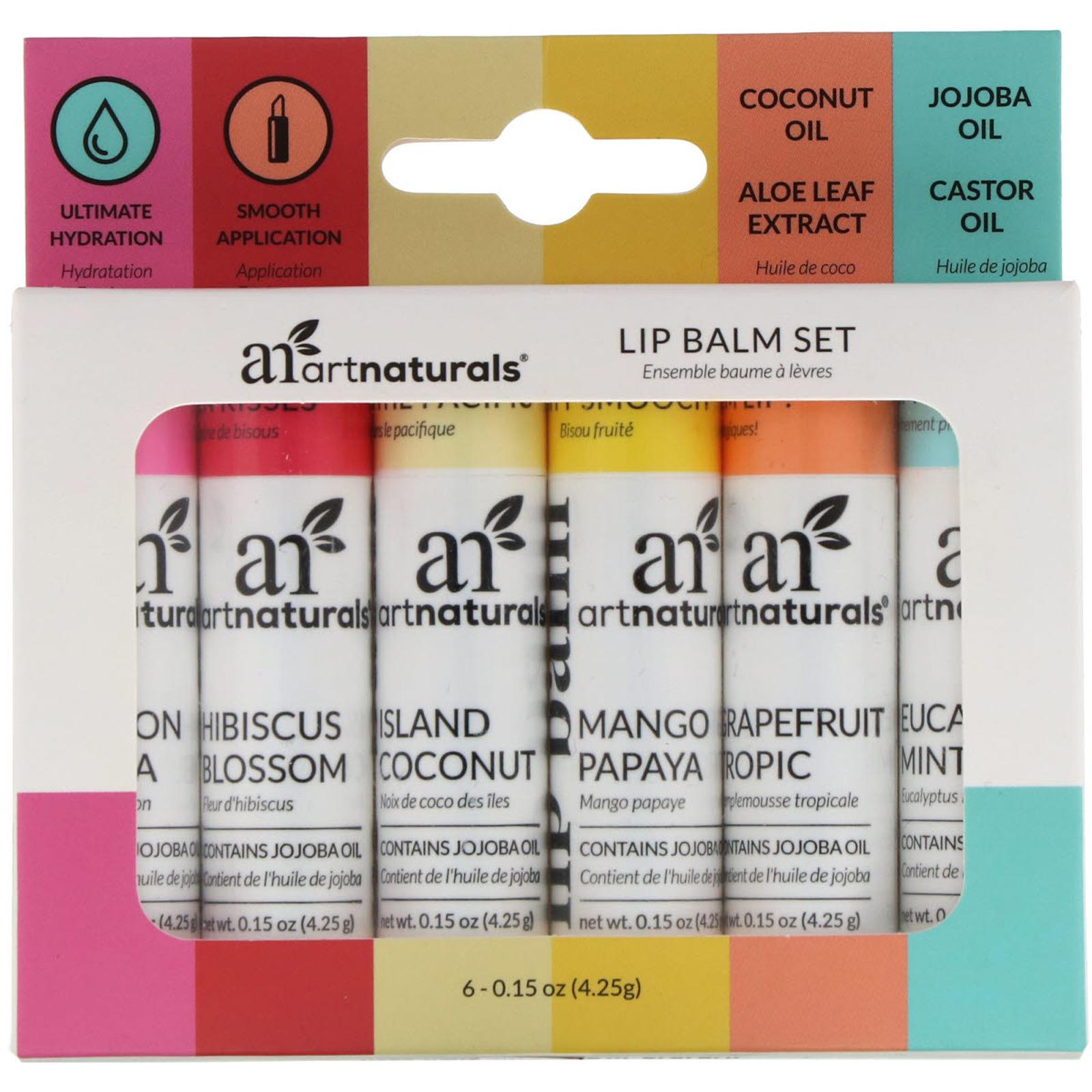 Lip Balm Set 6 Lip Balms 0.15 oz (4.25 g) Each | eBay
