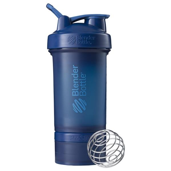Blender Bottle, ブレンダーボトル、プロスタック、ネイビー、22 oz