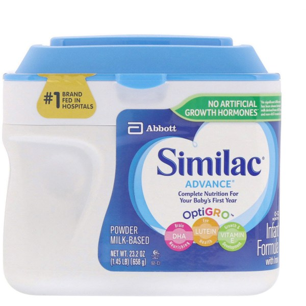 Similac Advance Infant Formula With Iron 0-12 Months 1