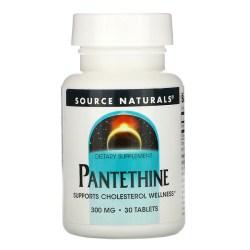 Source Naturals, パンテチン、300 mg、30 錠