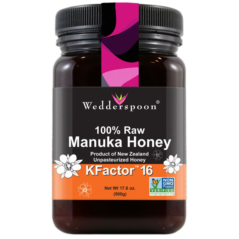 Wedderspoon Raw Manuka Honey