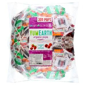 YumEarth, Organic Pops Vitamin C , 300 Pops, 80 oz (2268 g)
